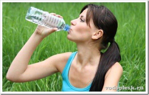 Вода для очистки организма